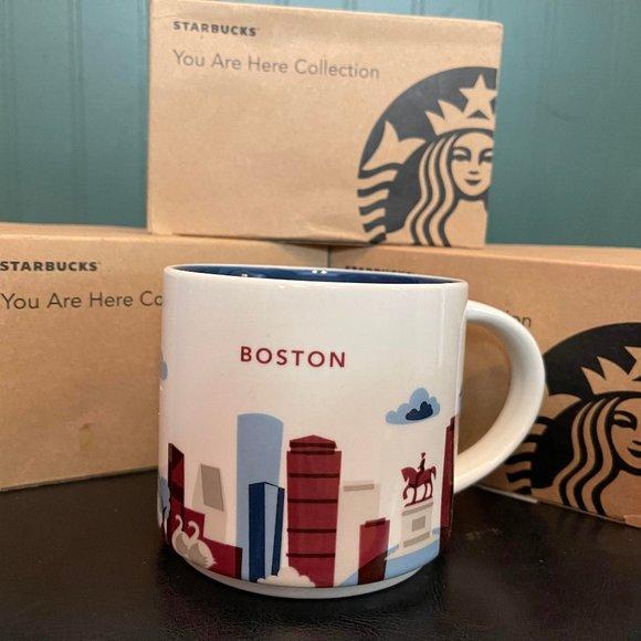 Boston Starbucks 14OZ mug with Box
